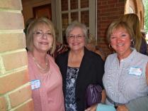 Three cousins together at last! Darline, Brenda, and Connie, all great granddaughters of Joseph Alexander Dunagan.